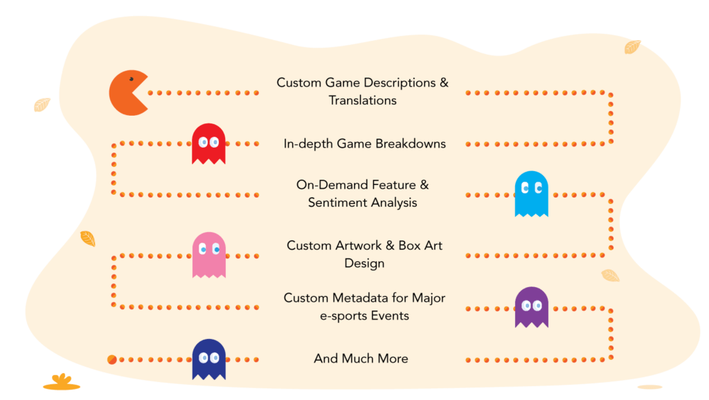 Customized Game Data Solutions