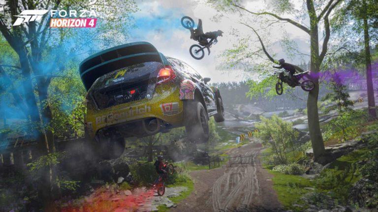 ForzaHorizon4 - A Racing Video Game Genre