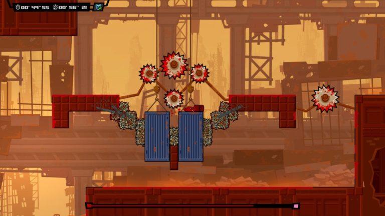 Super Meat Boy Forever - Platform Video Game Genre